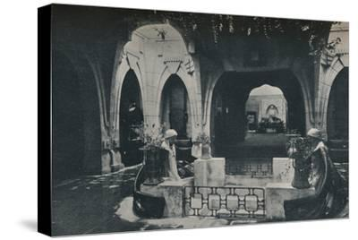 'Hall in the German Section of the Turin Exhibition', 1902-Unknown-Stretched Canvas Print