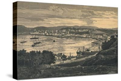 View of Oban, late 19th century-Unknown-Stretched Canvas Print