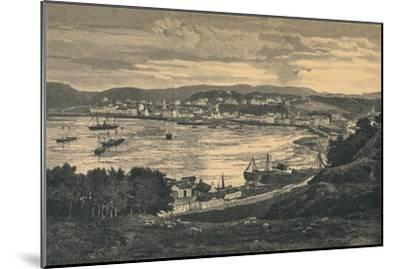 View of Oban, late 19th century-Unknown-Mounted Giclee Print