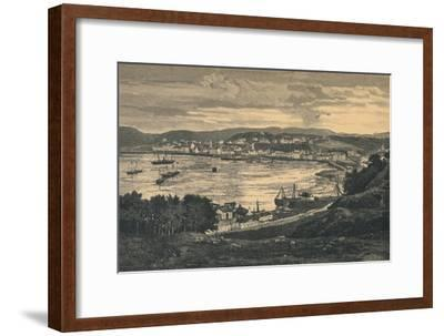 View of Oban, late 19th century-Unknown-Framed Giclee Print