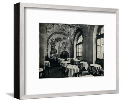 'The Penna D'Oca Restaurant, Main dining room', c1928-Unknown-Framed Photographic Print