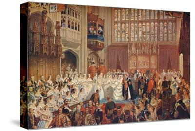 The Marriage of the Prince of Wales, 1863 (1906)-Unknown-Stretched Canvas Print