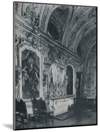 'Sacristy of the Carmo Church, Rio de Janeiro', c1943-Unknown-Mounted Photographic Print