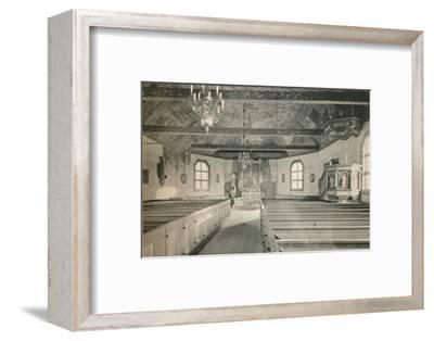 'Seglora Church,Skansen Open Air Museum, Stockholm', 1925-Unknown-Framed Photographic Print