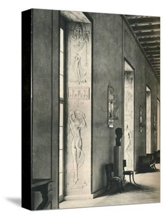'The Great Gallery in Stockholm City Hall', 1925-Unknown-Stretched Canvas Print