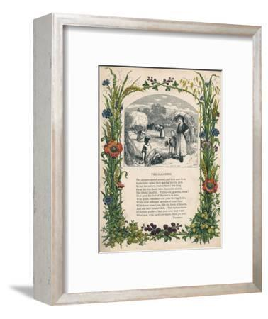 'The Gleaners' by Thomson, c1900-Unknown-Framed Giclee Print