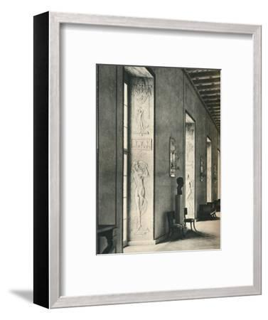 'The Great Gallery in Stockholm City Hall', 1925-Unknown-Framed Photographic Print