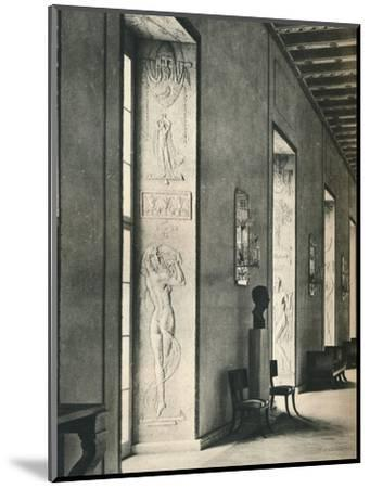 'The Great Gallery in Stockholm City Hall', 1925-Unknown-Mounted Photographic Print