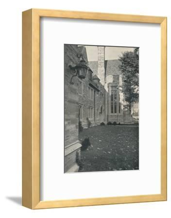'Dormitories and Dining Hall. Princeton University, New Jersey', c1922-Unknown-Framed Photographic Print