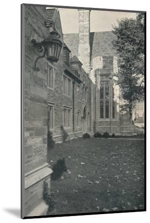 'Dormitories and Dining Hall. Princeton University, New Jersey', c1922-Unknown-Mounted Photographic Print