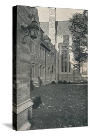 'Dormitories and Dining Hall. Princeton University, New Jersey', c1922-Unknown-Stretched Canvas Print