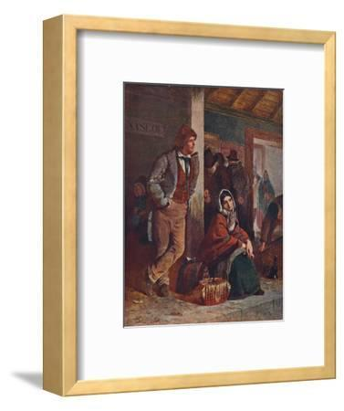 'The Emigrants', 1864 (1906)-Unknown-Framed Giclee Print