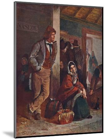 'The Emigrants', 1864 (1906)-Unknown-Mounted Giclee Print