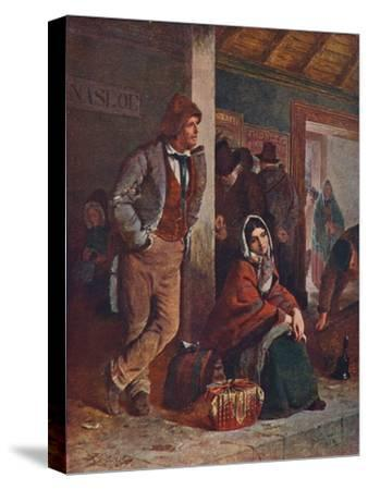 'The Emigrants', 1864 (1906)-Unknown-Stretched Canvas Print