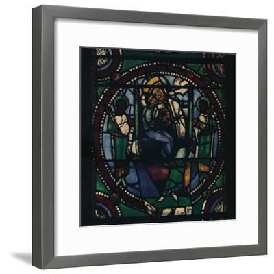 'Medallion from the Church of St. Mary and All Saints', 1925-Unknown-Framed Giclee Print