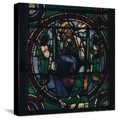 'Medallion from the Church of St. Mary and All Saints', 1925-Unknown-Stretched Canvas Print