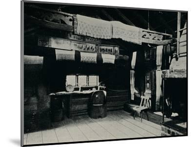 'Interior From Mora, Skansen Open Air Museum, Stockholm', 1925-Unknown-Mounted Photographic Print