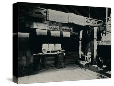 'Interior From Mora, Skansen Open Air Museum, Stockholm', 1925-Unknown-Stretched Canvas Print