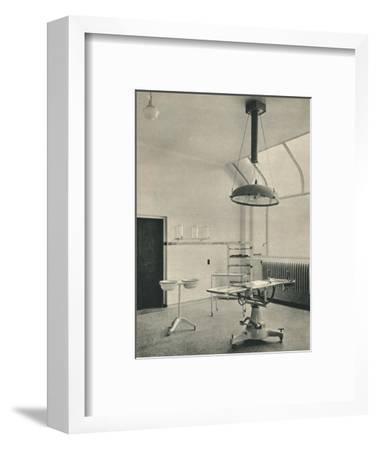 Operating Theatre, Princess Louise Kensington Hospital for Children-Unknown-Framed Photographic Print