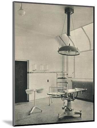 Operating Theatre, Princess Louise Kensington Hospital for Children-Unknown-Mounted Photographic Print