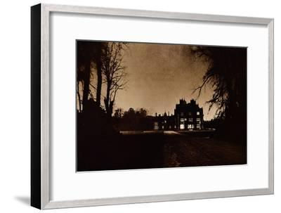 Sandringham House, Norfolk, on the night of King George V's death, 1936-Unknown-Framed Giclee Print