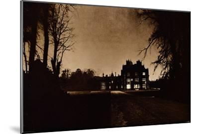 Sandringham House, Norfolk, on the night of King George V's death, 1936-Unknown-Mounted Giclee Print