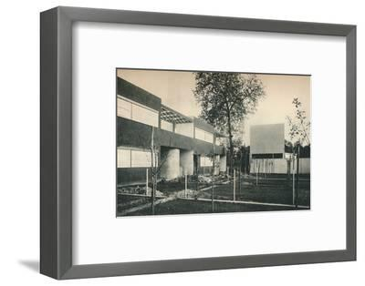Industrial Housing Scheme at Pessac, near Bordeaux-Unknown-Framed Photographic Print