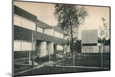 Industrial Housing Scheme at Pessac, near Bordeaux-Unknown-Mounted Photographic Print