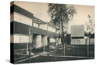 Industrial Housing Scheme at Pessac, near Bordeaux-Unknown-Stretched Canvas Print