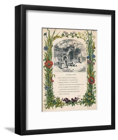 'Autumnal Fruit' by Keats, c1900-Unknown-Framed Giclee Print
