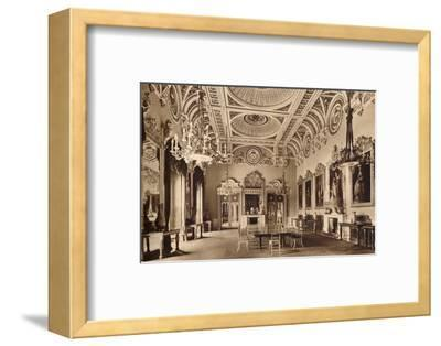 The State Dining Room, Buckingham Palace, 1935-Unknown-Framed Photographic Print