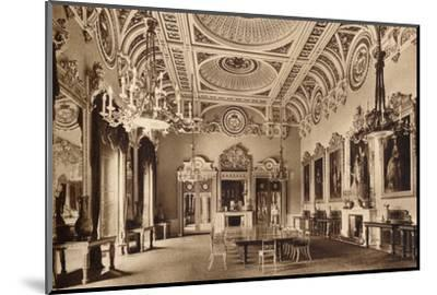 The State Dining Room, Buckingham Palace, 1935-Unknown-Mounted Photographic Print