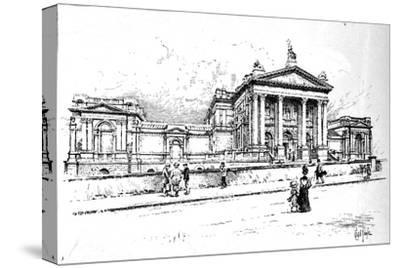 The Tate Gallery (National Gallery of British Art), 1906-Unknown-Stretched Canvas Print