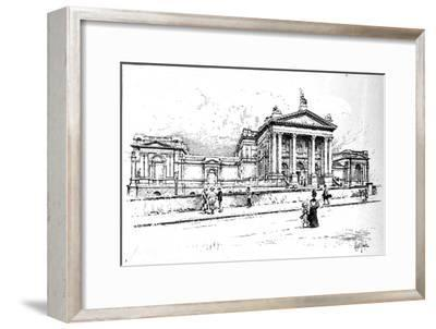 The Tate Gallery (National Gallery of British Art), 1906-Unknown-Framed Giclee Print