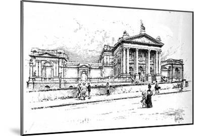 The Tate Gallery (National Gallery of British Art), 1906-Unknown-Mounted Giclee Print