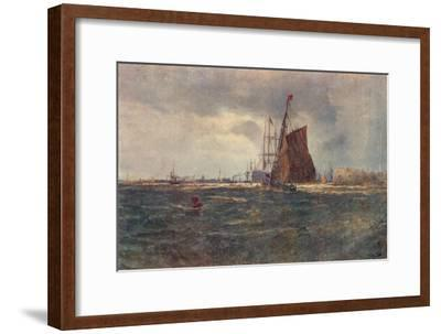 'Entrance to Portsmouth Harbour', late 19th Century (1906)-Unknown-Framed Giclee Print