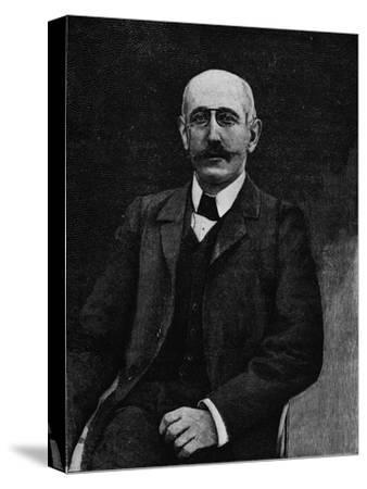 Captain Alfred Dreyfus, French soldier disgraced in the Dreyfus Affair, c1900-Unknown-Stretched Canvas Print