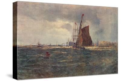 'Entrance to Portsmouth Harbour', late 19th Century (1906)-Unknown-Stretched Canvas Print
