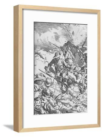 The Battle of Spion Kop, Boer War, South Africa, 1900 (1906)-Unknown-Framed Giclee Print