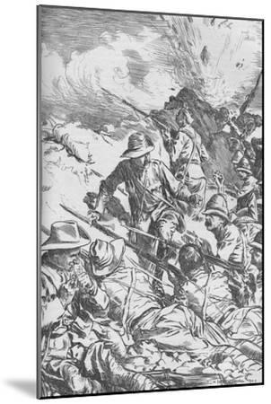The Battle of Spion Kop, Boer War, South Africa, 1900 (1906)-Unknown-Mounted Giclee Print