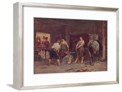 'After Culloden: Rebel Hunting', 1905-Unknown-Framed Giclee Print