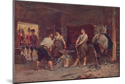'After Culloden: Rebel Hunting', 1905-Unknown-Mounted Giclee Print