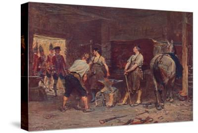 'After Culloden: Rebel Hunting', 1905-Unknown-Stretched Canvas Print