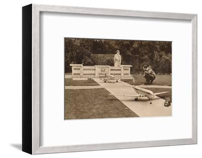 The Airport, the Model Village, West Cliff, Ramsgate, Kent, c1950s-Unknown-Framed Photographic Print