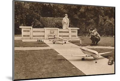 The Airport, the Model Village, West Cliff, Ramsgate, Kent, c1950s-Unknown-Mounted Photographic Print