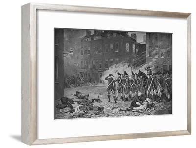 The Gordon Riots, London, 1780 (1905)-Unknown-Framed Giclee Print
