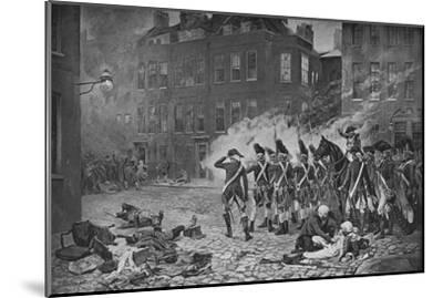 The Gordon Riots, London, 1780 (1905)-Unknown-Mounted Giclee Print