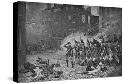 The Gordon Riots, London, 1780 (1905)-Unknown-Stretched Canvas Print