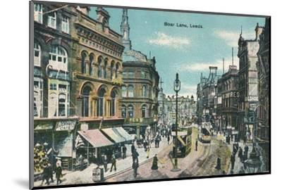 Boar Lane, Leeds, c1905-Unknown-Mounted Photographic Print