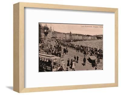 Loch Promenade, Douglas, Isle of Man, c1920-Unknown-Framed Photographic Print
